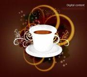 咖啡杯創意花紋