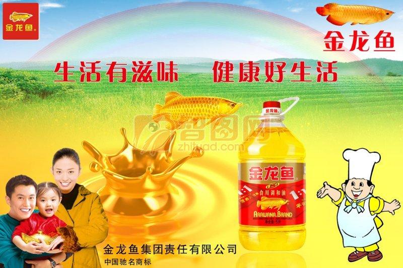金龍魚廣告