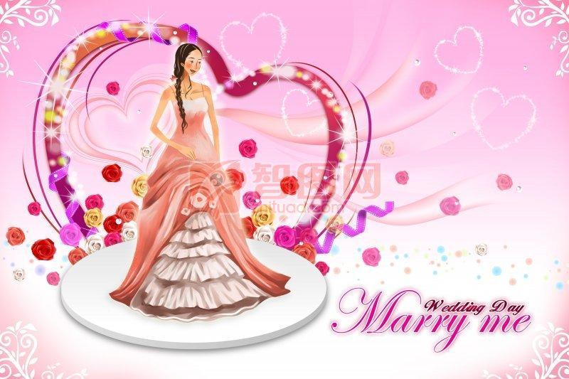 婚姻題材人物設計