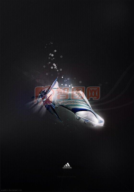 【psd】adidas海报设计图片