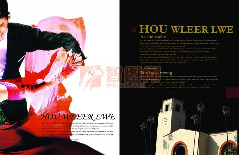 HOU WLEER LWE畫冊模板