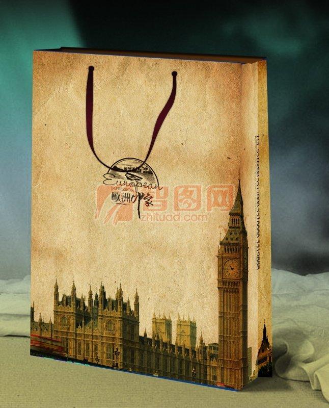 歐式風格紙袋