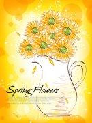 黄色太阳花