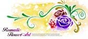 玫瑰花花纹设计