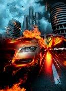 烈火燃烧的城市