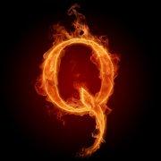 火焰字母Q