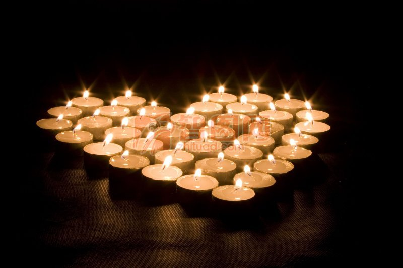 【jpg】蜡烛心形图片