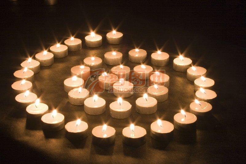 艺术形状蜡烛