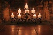 蜡烛摆放艺术