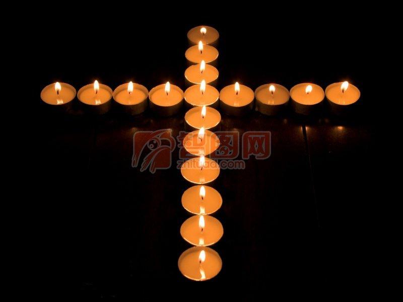 蜡烛摄影元素