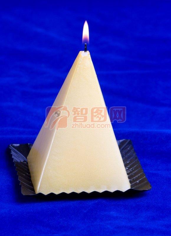 锥形体蜡烛