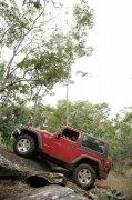 紅色越野車攝影