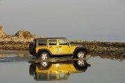 黃色越野車