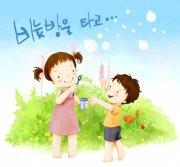 韩国卡通儿童插画