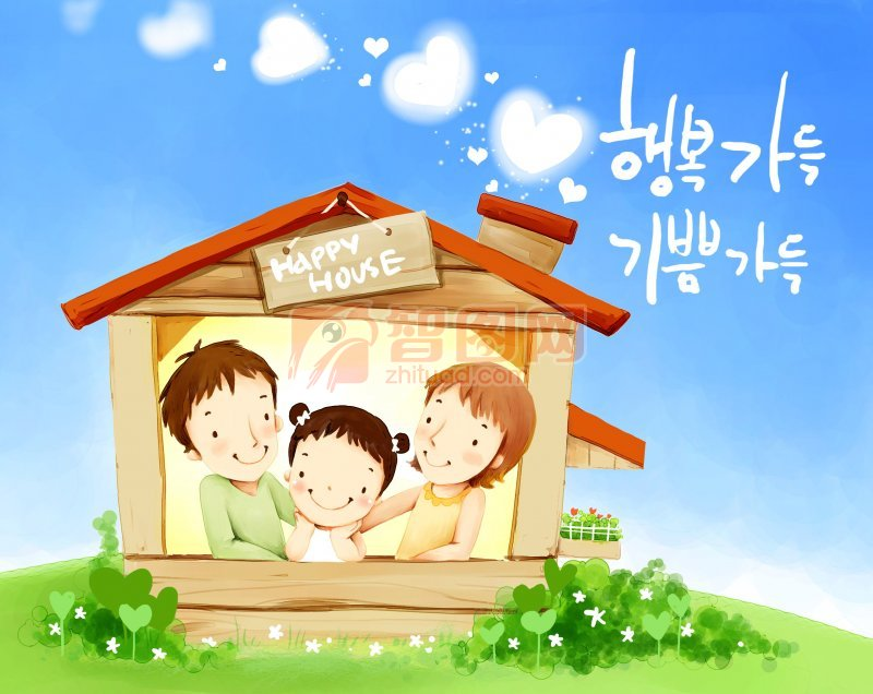 韩国插画设计