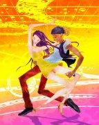 跳舞的兩個人