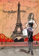 巴黎铁塔素材