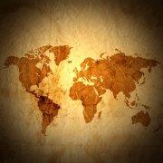 世界地圖攝影圖片