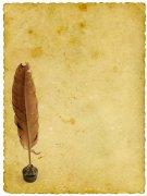 黄色纸张素材