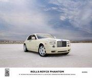 幻影白色轿车