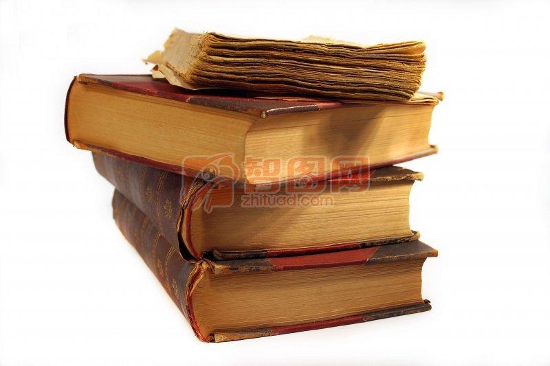 摞起的书本