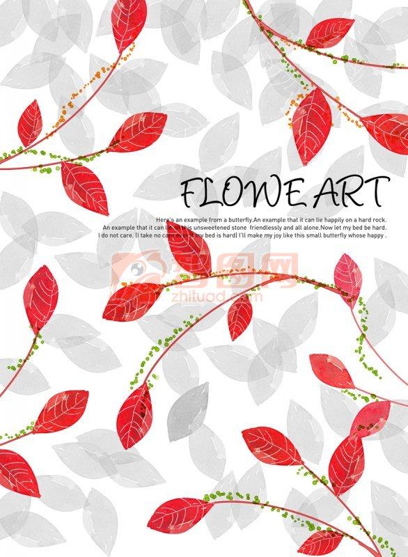美术花朵设计