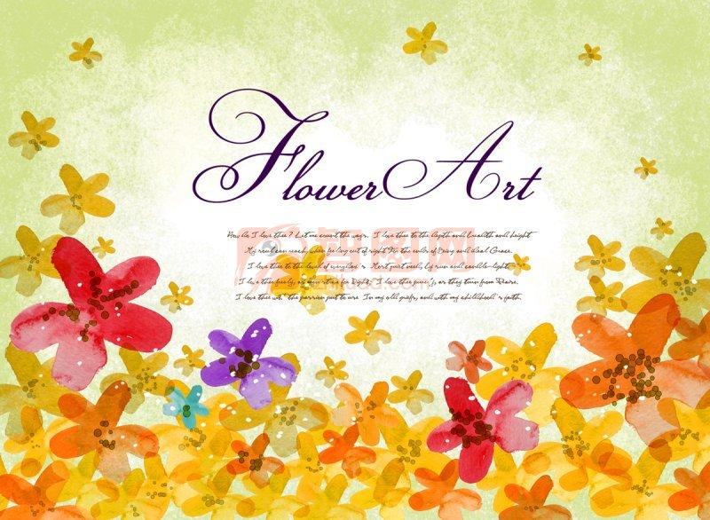 花朵元素设计