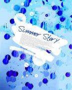 summer story美术元素
