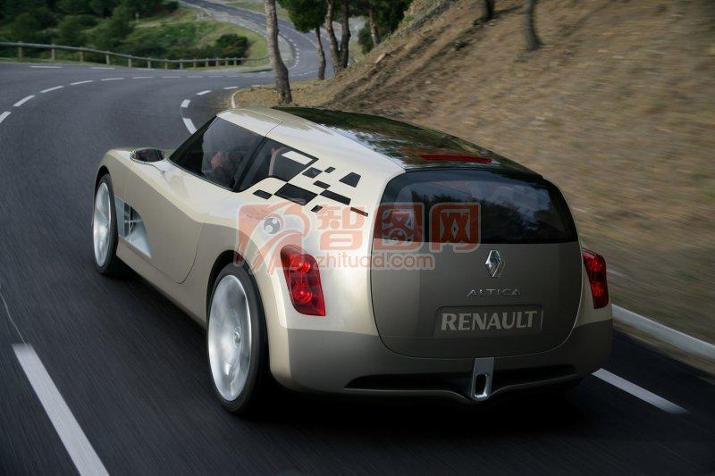 ALTICA概念車背面攝影