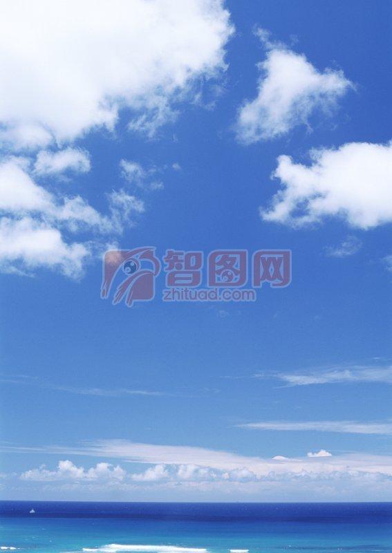 藍色天空元素