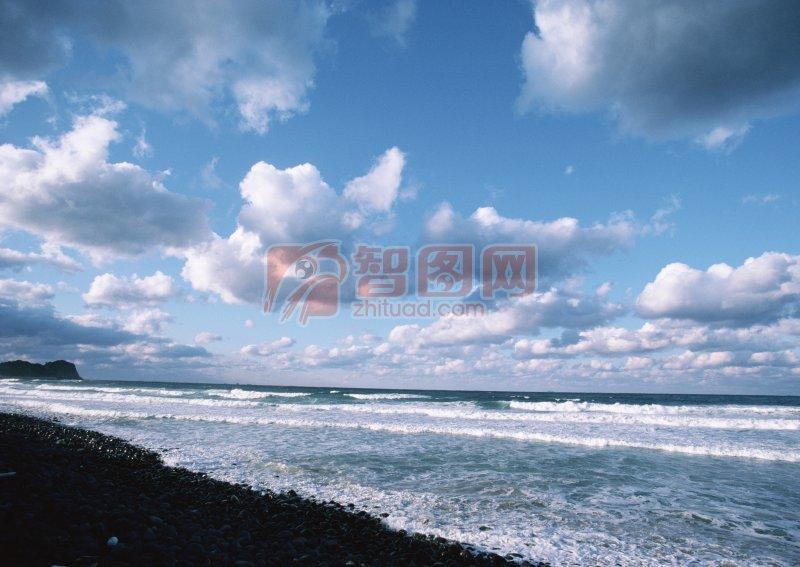 海洋景色元素