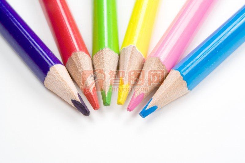 彩色绘画铅笔