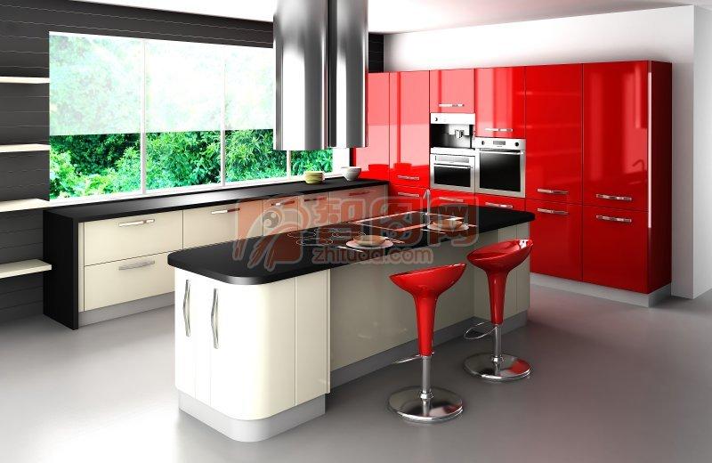 開放式廚房元素