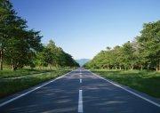 安静清晰路面