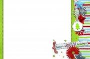 圣诞元素相框