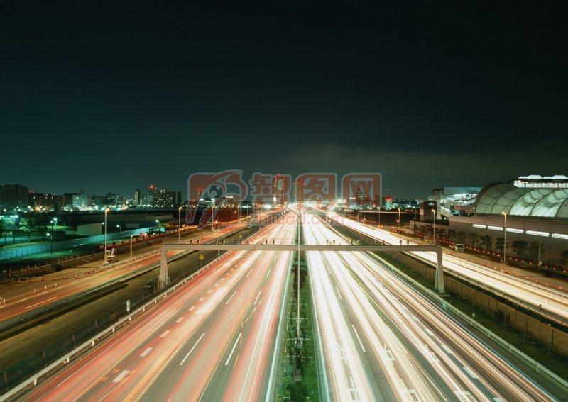 高速道路燈光