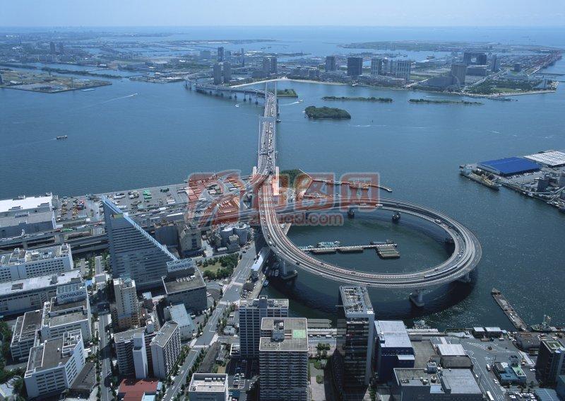 城市上空攝影