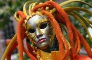 面具文化元素