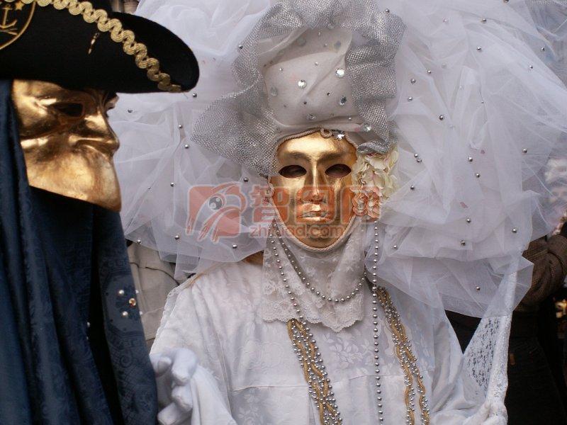 金色面具素材