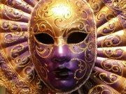 金色面具摄影