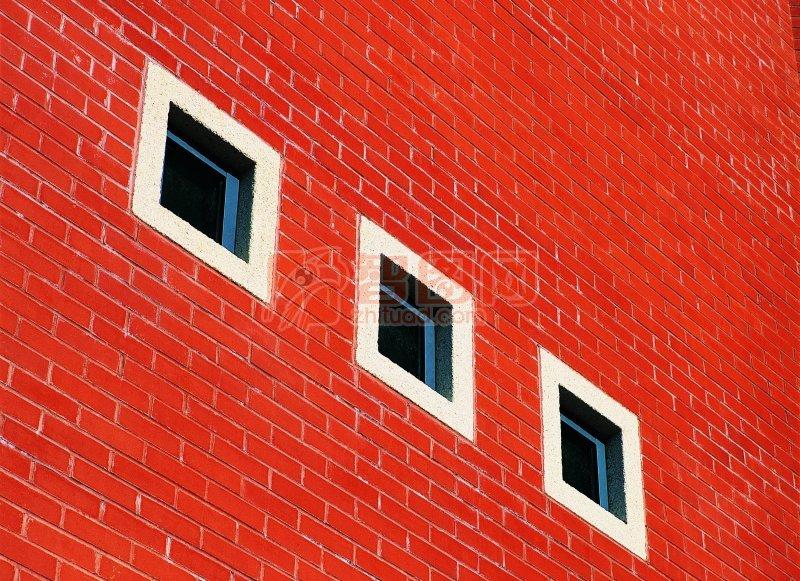 紅墻磚建筑