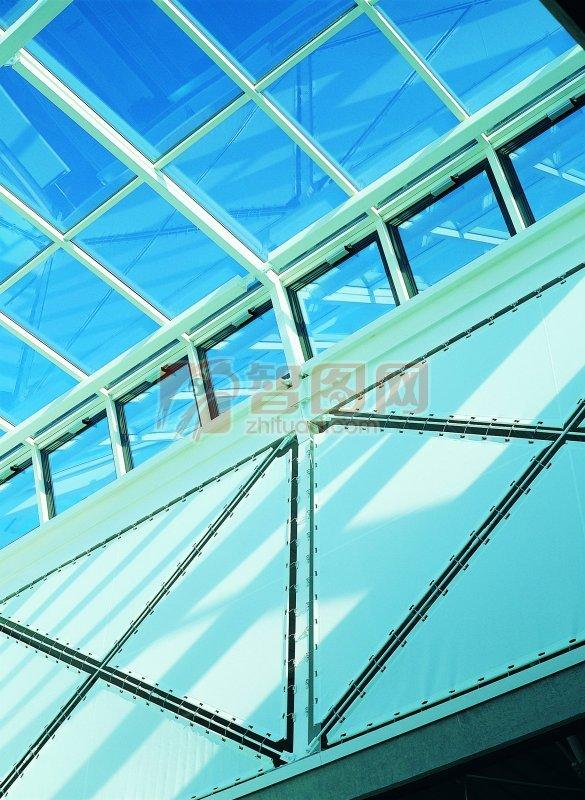 【jpg】蓝色玻璃建筑