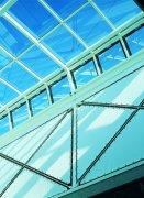 藍色玻璃建筑