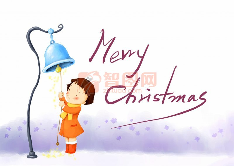 merry chris插画