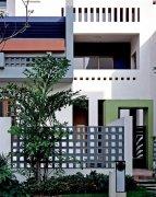 白色現代建筑