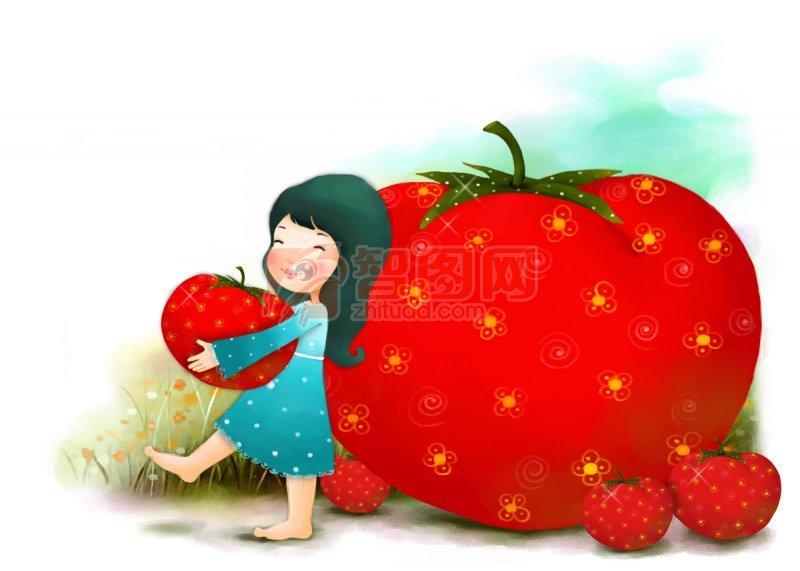 西紅柿女孩