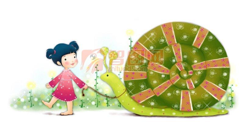 女孩与蜗牛