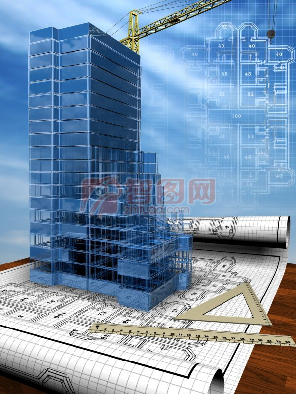 高樓設計模型