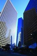 藍色調高樓