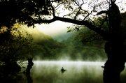 高清湖面攝影